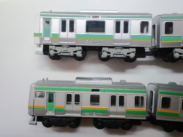 E231系 常磐線と近郊型の先頭車側面