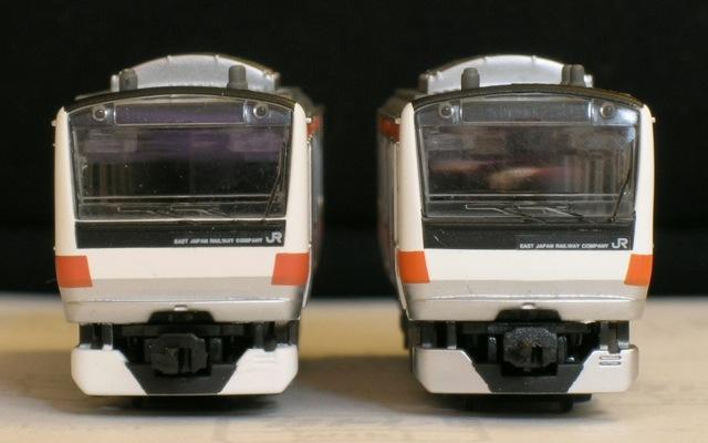 左が新パート1、右が今回のE233系中央線/投稿者Kim/転載可