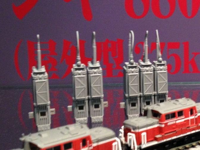シキ880変圧器 全日本模型ホビーショー参考出品